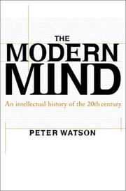 Cover of: The modern mind