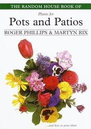 Cover of: The Random House Book of Plants for Pots and Patios