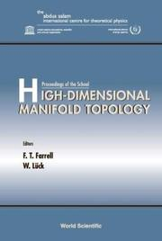 High-Dimensional Manifold Topology