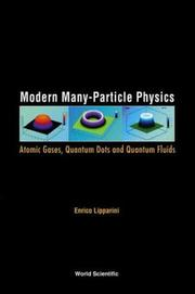 Cover of: Modern Many-Particle Physics | Enrico Lipparini