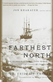 Cover of: Farthest North