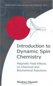 Cover of: Introduction to Dynamic Spin Chemistry | Hisaharu Hayashi