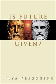 Cover of: Is future given?