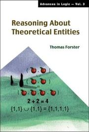 Cover of: Reasoning about theoretical entities