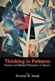 Cover of: Thinking in patterns