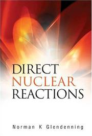 Cover of: Direct Nuclear Reactions | Norman K. Glendenning