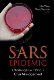 Cover of: The SARS epidemic