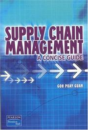 Cover of: Supply chain management |