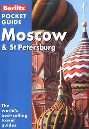 Cover of: Berlitz Moscow and St. Petersburg Pocket Guide (Berlitz Pocket Guides S.) | Inc. Berlitz International