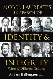 Cover of: Nobel Laureates In Search Of Identity And Integrity