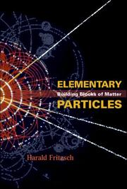 Cover of: Elementary particles by Harald Fritzsch
