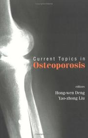Cover of: Current Topics in Osteoporosis |