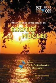 Cover of: International symposium on exotic nuclei |