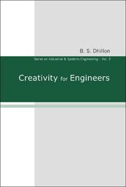 Cover of: Creativity for Engineers (Series on Industrial and Systems Engineering) (Series on Industrial and Systems Engineering)