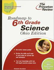 Cover of: Roadmap to 6th Grade Science, Ohio Edition