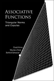 Cover of: Associative functions