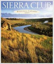 Cover of: Sierra Club Wilderness Calendar 2001