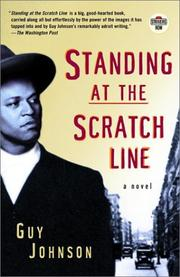 Cover of: Standing at the scratch line