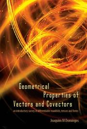 Cover of: Geometrical Properties of Vectors and Covectors | Joaquim M. Domingos