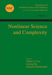 Cover of: Nonlinear Science and Complexity (Transactions of Nonlinear Science and Complexity) |