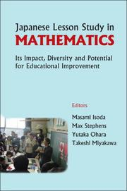 Cover of: Japanese Lesson Study in Mathematics |