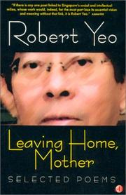 Cover of: Leaving home, Mother