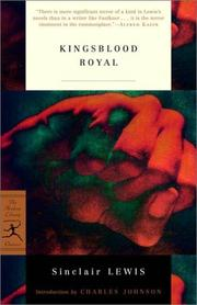 Cover of: Kingsblood royal
