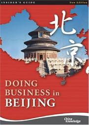 Cover of: Doing Business in Beijing | China Knowledge Press PTE LTD