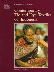 Cover of: Contemporary tie and dye textiles of Indonesia