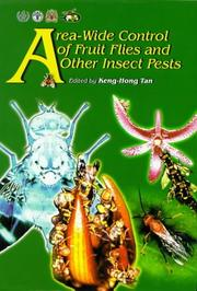 Cover of: Area-Wide Control of Fruit Flies and Other Insect Pests | Keng-Hong Tan