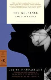 Cover of: The Necklace and Other Tales