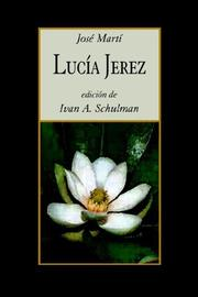 Cover of: Lucia Jerez