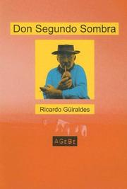 Cover of: Don Segundo Sombra (Spanish)