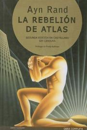 Cover of: La Rebelion de Atlas (Obra Completa)