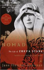 Cover of: Passionate nomad: the life of Freya Stark