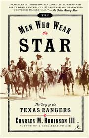 Cover of: The men who wear the star