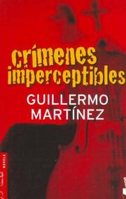 Cover of: Crímenes imperceptibles