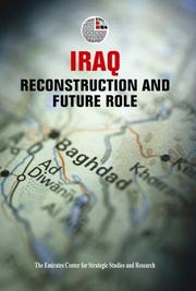 Cover of: Iraq: Reconstruction and Future Role