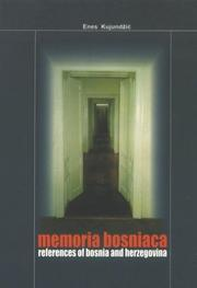 Cover of: Memoria bosniaca | Enes KujundzМЊicМЃ