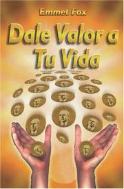 Cover of: Dale Valor a Tu Vida