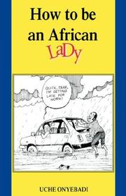 Cover of: How to Be an African Lady