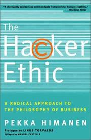 Cover of: The Hacker Ethic | Pekka Himanen