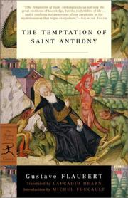Cover of: The temptation of St. Anthony