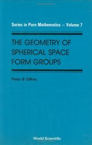 Cover of: Geometry of Spherical Space Form Groups (Series in Pure Mathematics)