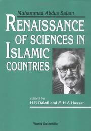 Cover of: Renaissance of sciences in Islamic countries