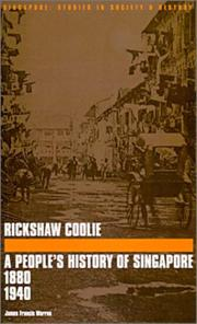 Cover of: Rickshaw Coolie