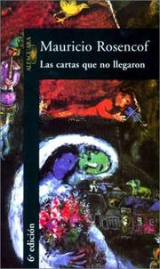Cover of: Las cartas que no llegaron