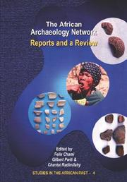 Cover of: The African archaeology network |
