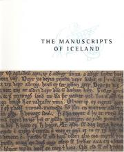 Cover of: The Manuscripts of Iceland |