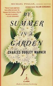 Cover of: My Summer in a Garden